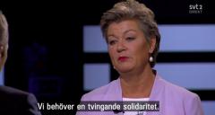 EU:n komission jäsen Ylva Johansson – Socialdemokraterna