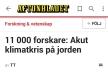 Aftonbladet Akut klimatkris