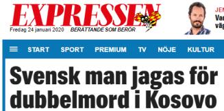 Expressen_svensk_man_Kosovo