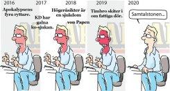 Steget efter samtalstonen Anders Lindberg