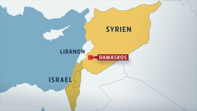 Israel Syrien karta