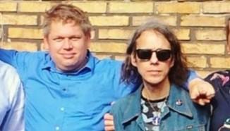 Rasmus Paludan och Dan Park. Bild från Facebook.