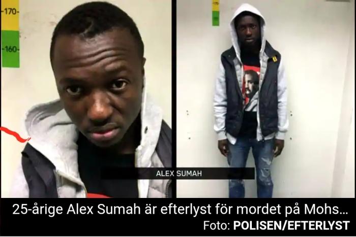 Afrikanen Alex Sumah gripen, misstänkt för mord på 17-årig afghan    Petterssons gör Sverige lagom!